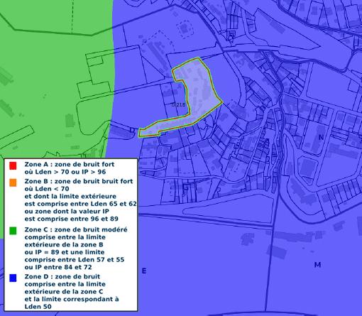 plan d'exposition au bruit peb etat des risque pollution active diag13